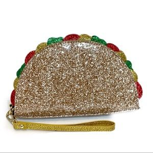 Charming Charlie Taco Clutch Wristlet